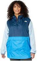 The North Face Plus Size Fanorak 2.0 (Clear Lake Blue/Blue Wing Teal/Angel Falls Blue) Women's Clothing
