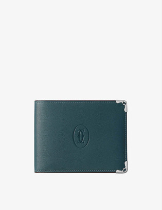 Cartier Must de small bi-fold leather wallet