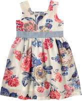 Cath Kidston Porchester Rose Square Neck Dress