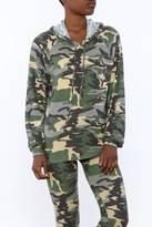 Michael Lauren Camo Pullover Jacket