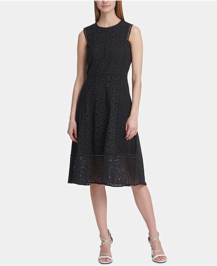 15cbaa98b1f Eyelet Lace Dress - ShopStyle