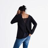 Madewell et Sézane® Lace-Back Top