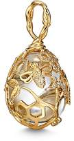 Temple St. Clair 18K Yellow Gold Beehive Rock Crystal & Diamond Amulet