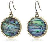 Lucky Brand Abalone Single Drop Earrings