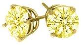 TheJewelryMaster .25 Carat Brilliant Round Diamond Stud Earrings SI2