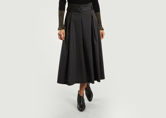 Tara Jarmon Belted Midi Dress - 36