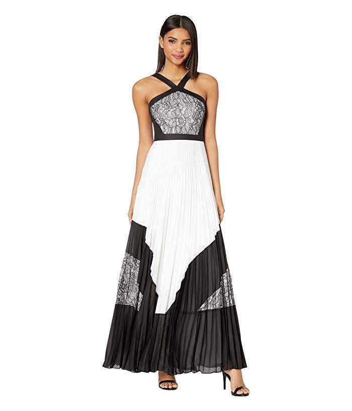 202e6be82ca5 Bcbg Lace Pleated Dress - ShopStyle