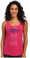 Life is Good Rise & Shine Floral Simple Sleep Tank