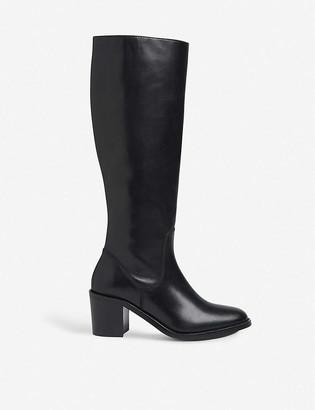 LK Bennett Yulia leather knee-high boots