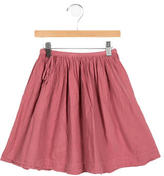 Caramel Baby & Child Girls' Gathered-Accented Skirt