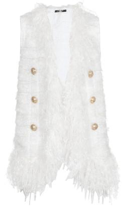 Balmain Waistcoat With Fringes