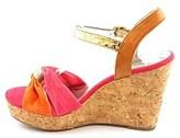 Alfani Womens Janeira Open Toe Casual Platform Sandals, Orange, Size 11.0.