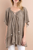 Easel Mineral Wash Tunic