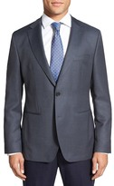 HUGO BOSS Trim Fit Wool Blazer