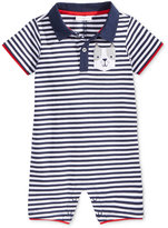 First Impressions Striped Dog-Pocket Cotton Romper, Baby Boys (0-24 months), Created for Macy's