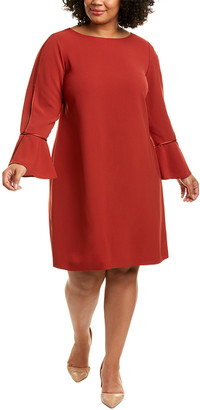 Lafayette 148 New York Plus Jorie Shift Dress