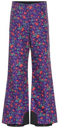MONCLER GENIUS 3 Moncler Grenoble floral ski pants