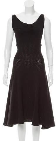 Derek Lam Crochet Sleeveless Dress