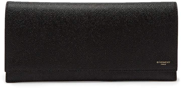 Givenchy Eros grained-leather travel wallet