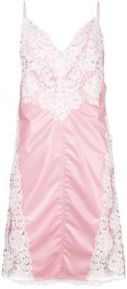 Calvin Klein lace panel slip dress