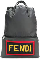 Fendi backpack with appliqué