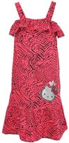 "Hello Kitty Little Girls' ""Wild Animals"" Maxi Dress"