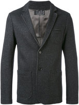 Pal Zileri raw-edge blazer - men - Cotton/Nylon/Polyester/Wool - 50