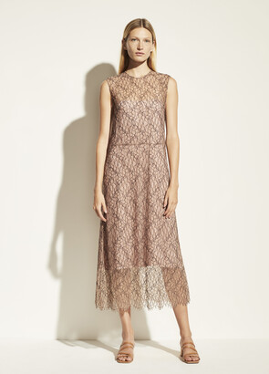 Vince Sleeveless Lace Dress