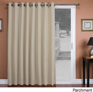 "Ricardo Tacoma Double-Blackout Grommet Patio Curtain Panel - 106""w x 84""l - 106""w x 84""l"