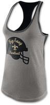 Nike Women's New Orleans Saints NFL Helmet Tri-Blend Tank