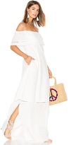 Clube Bossa Sert Long Dress in White. - size M (also in )