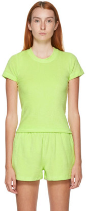 Gil Rodriguez SSENSE Exclusive Green Terry Corsica T-Shirt