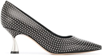 Casadei K Blade studded pumps