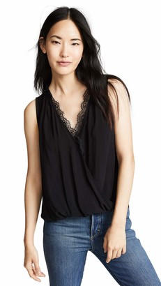 Velvet by Graham & Spencer Women's Belia Rayon Challis Tank