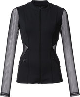 Cushnie et Ochs fitted sports jacket - women - Nylon/Spandex/Elastane - XS