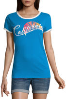 Arizona California Graphic T-Shirt- Juniors