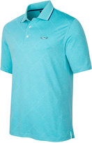 Greg Norman for Tasso Elba Men's Big & Tall Grid Performance Polo, Only at Macy's