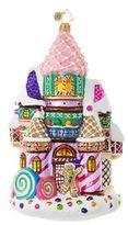 Christopher Radko Candy Castle Figurine
