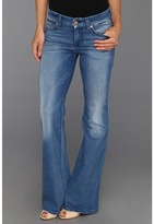 7 For All Mankind Petite Lexie A Pocket in Bright Light Blue (Bright Light Blue) - Apparel