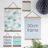 Modo creative Personalised Oak Picture Hanger