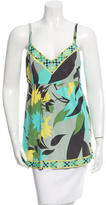 Emilio Pucci Sleeveless Floral Print Top