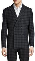 Antony Morato Checkered Double Breasted Sportcoat