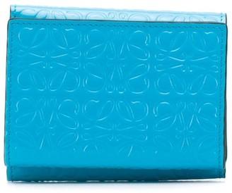 Loewe anagram embossed wallet