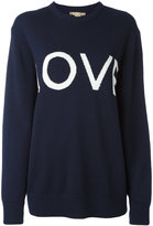 Michael Kors 'love' pattern jumper