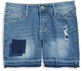 Vigoss Girls 7-16 Girls Distressed Bermuda Shorts