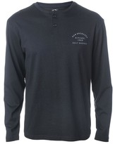 Rip Curl Long-Sleeved T-Shirt with Grandad Collar