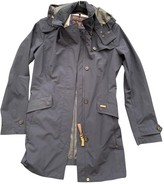 Woolrich Anthracite Polyester Coats