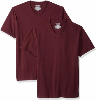 Amazon Essentials Men's 2-Pack Slim-Fit V-Neck T-Shirt