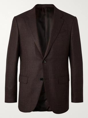 Ermenegildo Zegna Milano Melange Wool Blazer