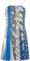 Kenzo multi pattern slip dress - women - Silk/Polyester/Spandex/Elastane/Viscose - 36